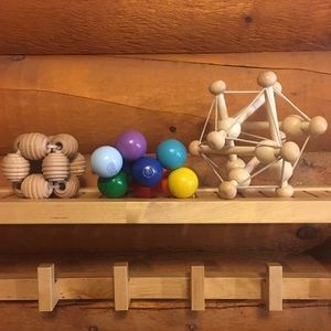 Other - MANHATTAN TOY CO interactive wooden ball toy set